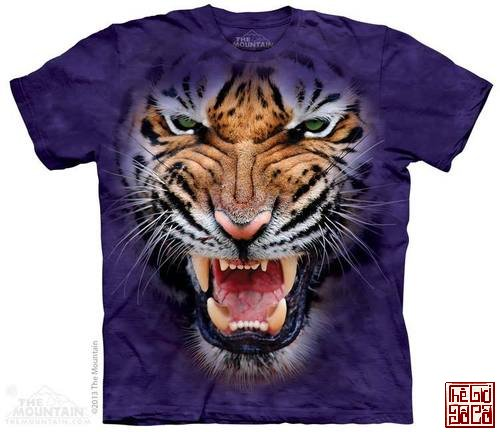 Growling Big Face Tiger T-Shirt.jpg