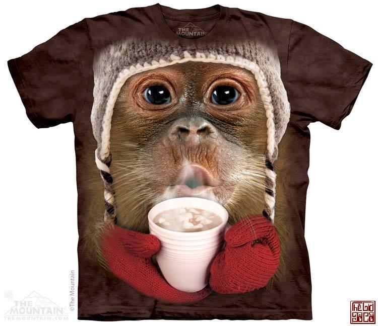 Hot Cocoa Orangutan T-Shirt.jpg