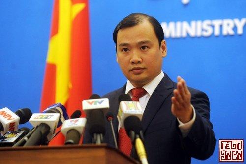 Ông Lê Hải Bình, phát ngôn viên Bộ Ngoại giao Việt Nam_Thegioidoco.net.jpg