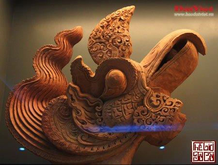 Khám phá hình tượng rồng và lá bồ đề trong điêu khắc thời Lý_2_Thegioidoco.net.JPG
