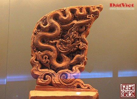 Khám phá hình tượng rồng và lá bồ đề trong điêu khắc thời Lý_4_Thegioidoco.net.JPG