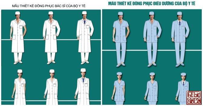 Bộ Y tế lại thay trang phục bác sĩ_1_Thegioidoco.net.jpg